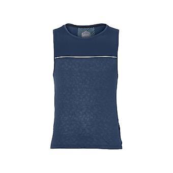 アシックスクールシングル1545680793ランニングオールイヤーメンズTシャツ