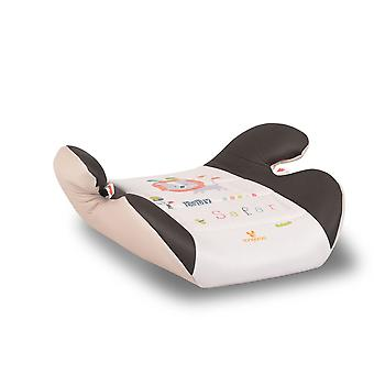 Cangaroo child seat Safari beige group 2/3 (15-36 kg) anatomical shape armrest