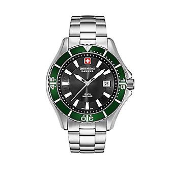 Swiss Military Hanowa 06-5296.04.007.06-quartz analogue watch with stainless steel band