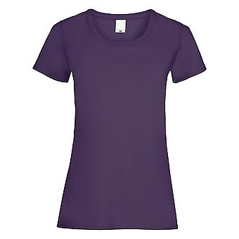 Womens/damer värde utrustade Kortärmad Casual T-Shirt