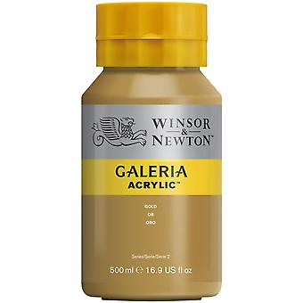 Winsor et Newton Galeria Acrylic Paint 500ml - Or