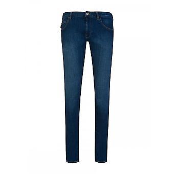 Emporio Armani 6g1j10 Extra Slim Fit Jeans Blue