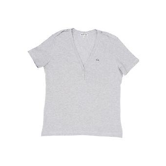 Women's Grey Lacoste T-shirt
