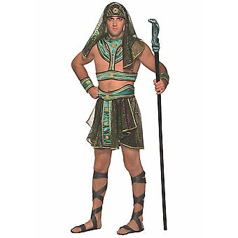 Pharaon égyptien King Tut Égypte souverain ancien Dress Up Mens Costume STD