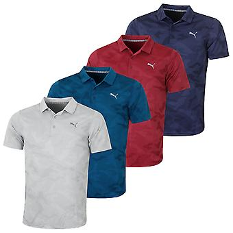 Puma Golf Herren Alterknit Camo Polo Shirt