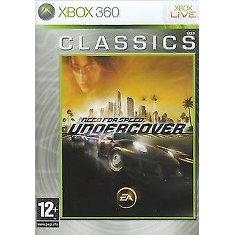Need For Speed Undercover klasyki gier Xbox 360 gry