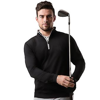 Glenmuir Mens Wick Half Zip Lightweight Golfing Sweater