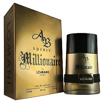 Ab spirit millionaire for men by lomani 6.6 oz eau de toilette spray