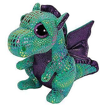 "Ty Beanie Boo 6"" Cinder peluche Dragon vert"