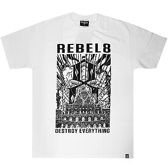 Rebel8 Capitol 8 Men's T-shirt White