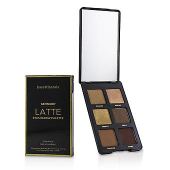 Gen nude eye shadow palette # latte 226947 6x1.1g/0.03oz