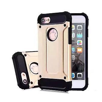 Stuff certificeret® iPhone 7-forgyldt rustning sag Cover CAS silikone TPU sag guld