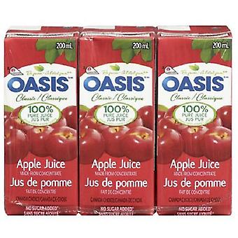 Oasis Tetra Apple Juice-( 200 Ml X 32 Cans )