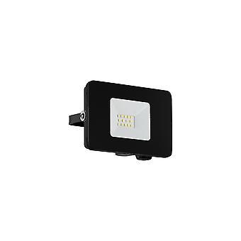 Eglo Faedo 3 - LED Utomhus Vägg Översvämning Ljus Svart IP65 - EG97455