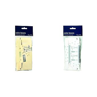 Simon Elvin Decorated Cake Boxes (Pack Of 8)