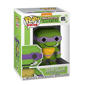 Funko Pop! Vinyl 8-Bit TMNT Donatello Figur #05