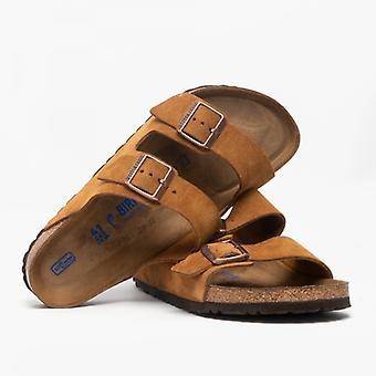 Birkenstock Arizona 1009526 (reg) Miesten Mokka kaksi hihna sandaalit Mink