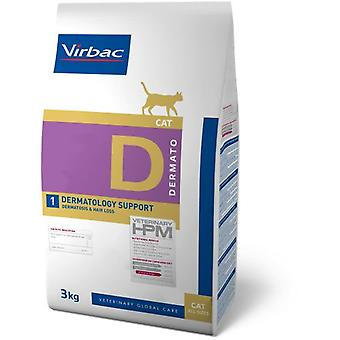 HPM Veterinary HPM D1 Dermatology Support (Cats , Cat Food , Dry Food)