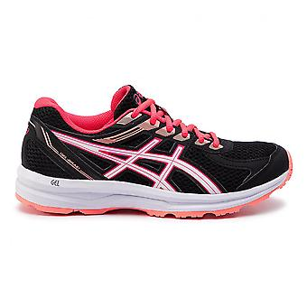 Asics Gel-Braid Womens Ladies Adults Running Fitness Trainer Chaussure Noire/Coral