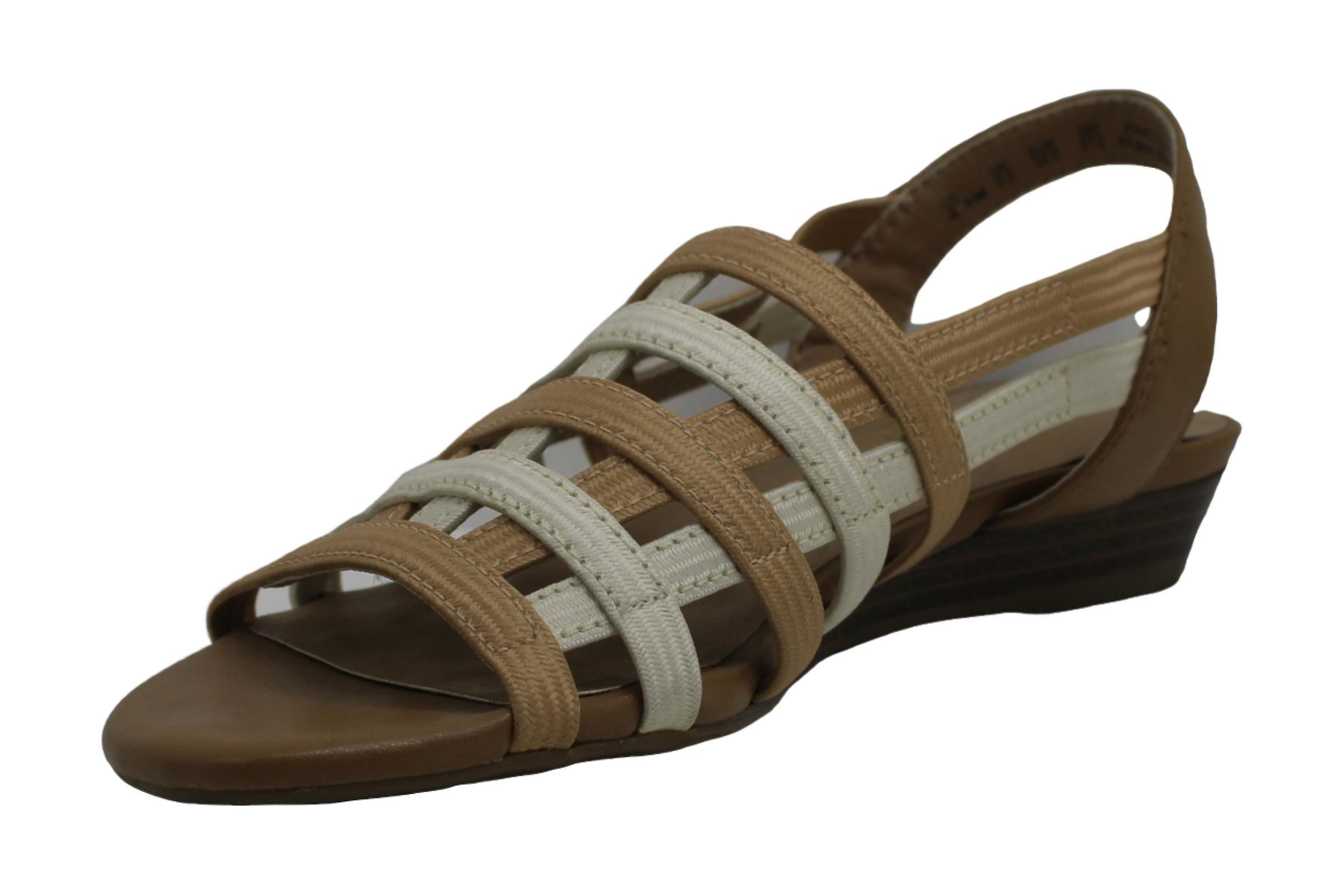 Naturalizer Womens E7752L5 Leather Open Toe Casual Slingback Sandals