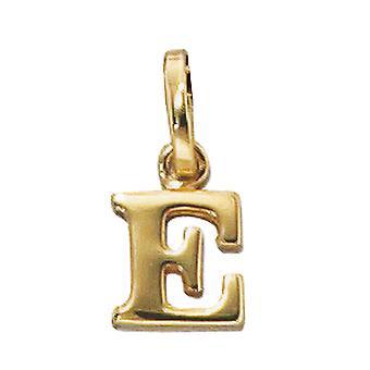 Women's Pendant Letter E 333 Gold Yellow Gold Letter Pendant