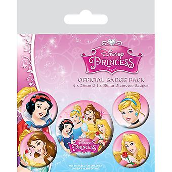 Disney Princess Pin Buton Rozetleri Seti