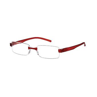 Reading glasses Le-0184D Toulon red strength +3.00