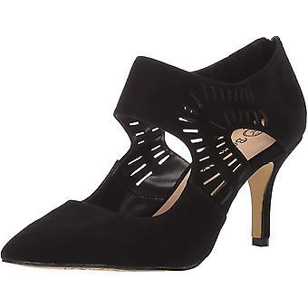 Bella Vita kvinnor ' s Dani klänning shootie med cutouts sko, svart kidsuede Leath...