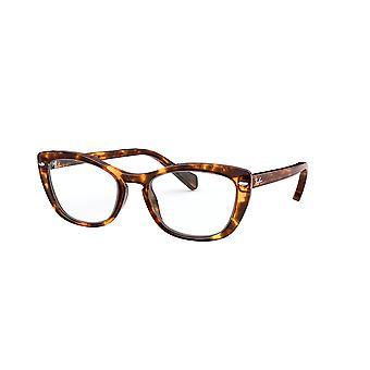 Ray-Ban RB5366 5947 Havanna Opal braun Gläser