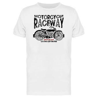 Motorrad-Raceway T-Shirt Herren-Bild von Shutterstock