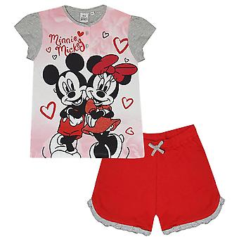 Disney minnie girls pyjama set min7333
