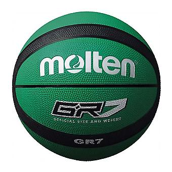 Molten GR7 Indoor Outdoor Rubber Basketball Ball Green