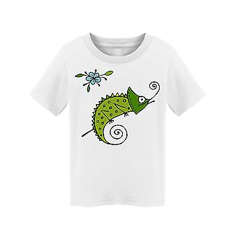 Green Chameleon Sketch Tee Toddler's -Image by Shutterstock