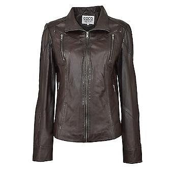 Women's leather jacket Lea