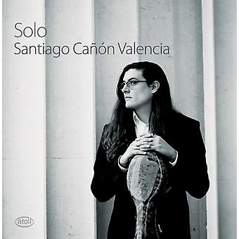 Santiago Canon Valencia - Solo [CD] USA import