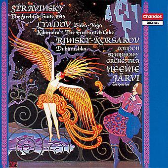 Stravinsky/Liadov/Etc - Stravinsky: The Firebird Suite; Lyadov: Baba-Yaga; Rimsky-Korsakyov: Dubinushka [CD] USA import