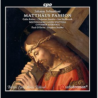 J.S. Bach - import de USA de Matthaus pasión [CD]