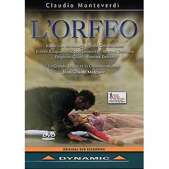 C. Monteverdi - L' Orfeo [DVD] USA import