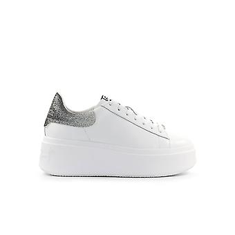 ASH MOBY BIANCO ARGENTO SNEAKER