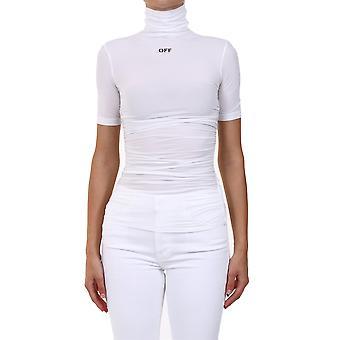 Off-white Owad121e20fab0010110 Femmes-apos;s T-shirt en polyester blanc