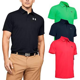 Under Armour Mens Vanish Wicking Stretch Golf Polo Shirt