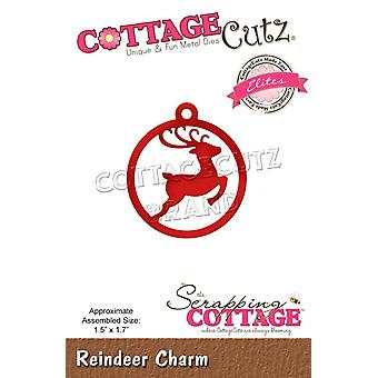 Scrapping Cottage Reindeer Charm