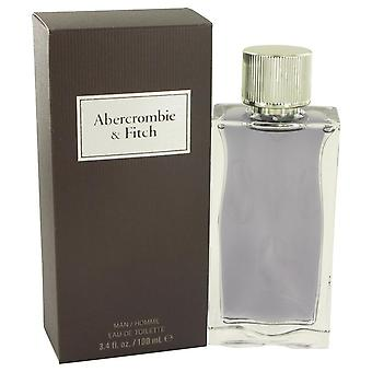 Første instinkt Eau De Toilette Spray af Abercrombie & Fitch 3,4 oz Eau De Toilette Spray