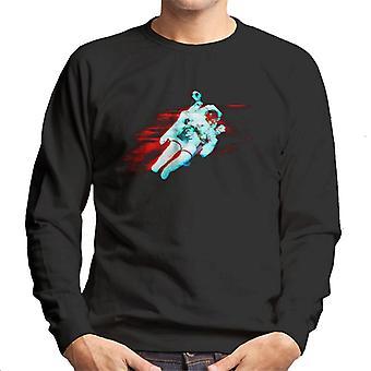 NASA Free Flight Astronaut Men's Sweatshirt