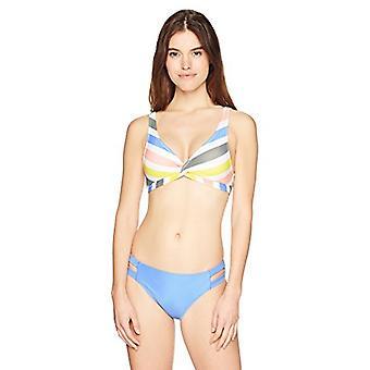 Brand - Mae Women's Swimwear Double Strap Hipster Classic Copertura Bik...