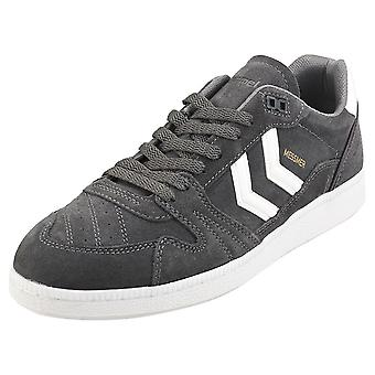 hummel Hb Team Mens Casual Trainers in Grey