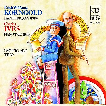 Korngold/Ives - Korngold: Piano Trio Op. 1; Ives: Piano Trio [CD] USA import