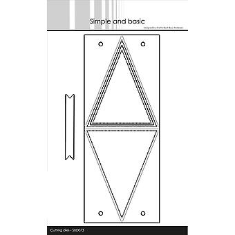 Simple and Basic Triangle Box Dies