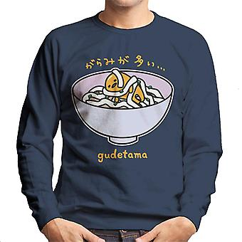 Gudetama Tangled In Ramen Men's Sweatshirt