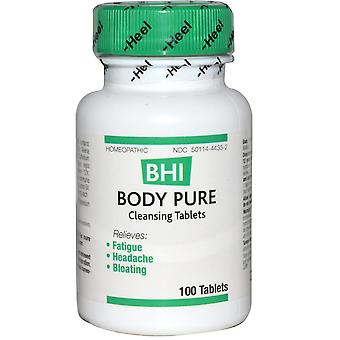 MediNatura, BHI, Body Pure, 100 Tablets